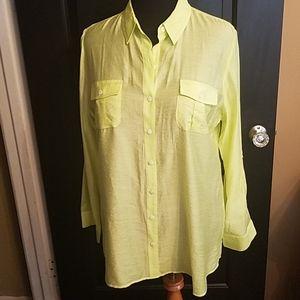 Chicos button down shirt